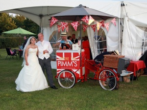 pimms wedding
