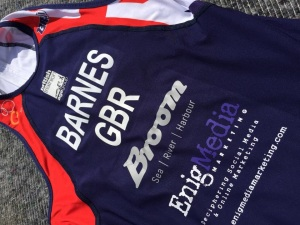 Barnes race suit 2015
